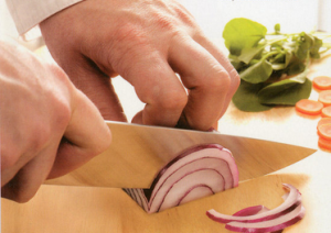Dit is geen eng mes, maar een scherp mes.