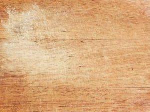 snijplank vies hout